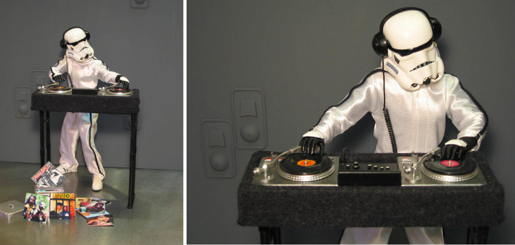 DJ Trooper by SUCKADELIC