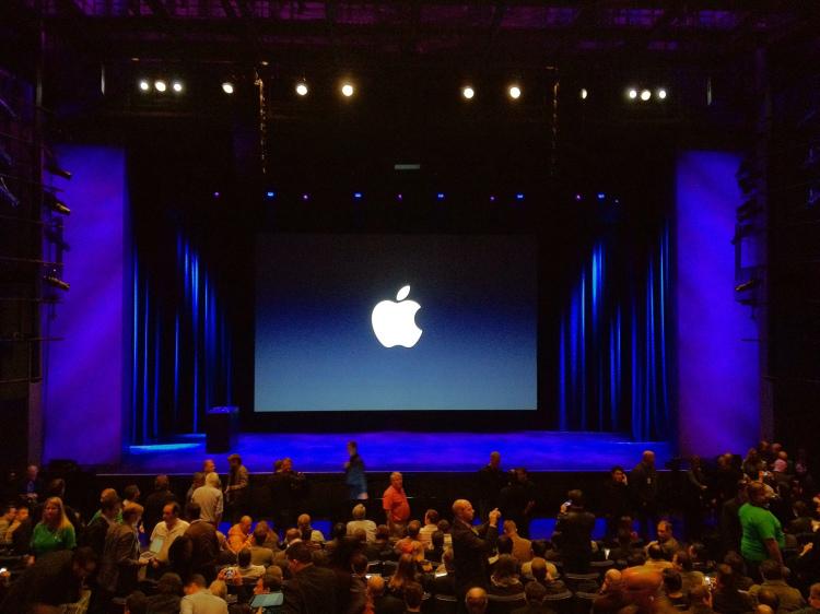 Apple Keynote Stage