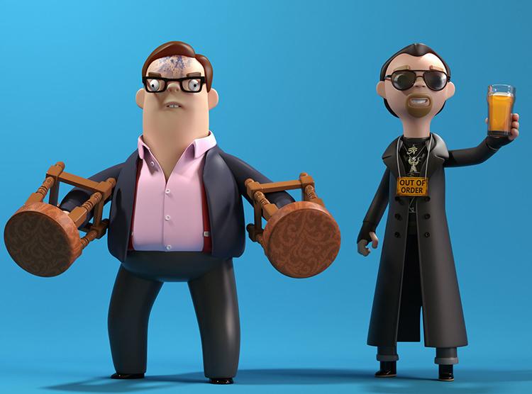 Andy & Gary