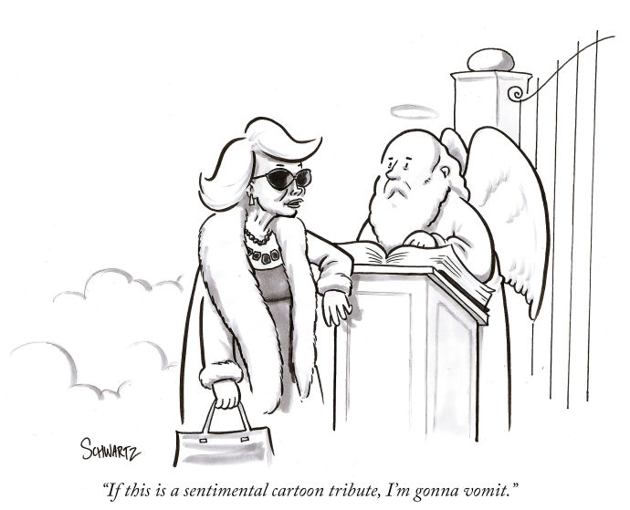 Joan Rivers Cartoon Tribute