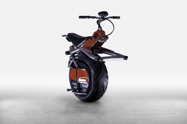 The Ryno, A One-Wheeled, Self-Balancing Electric Scooter