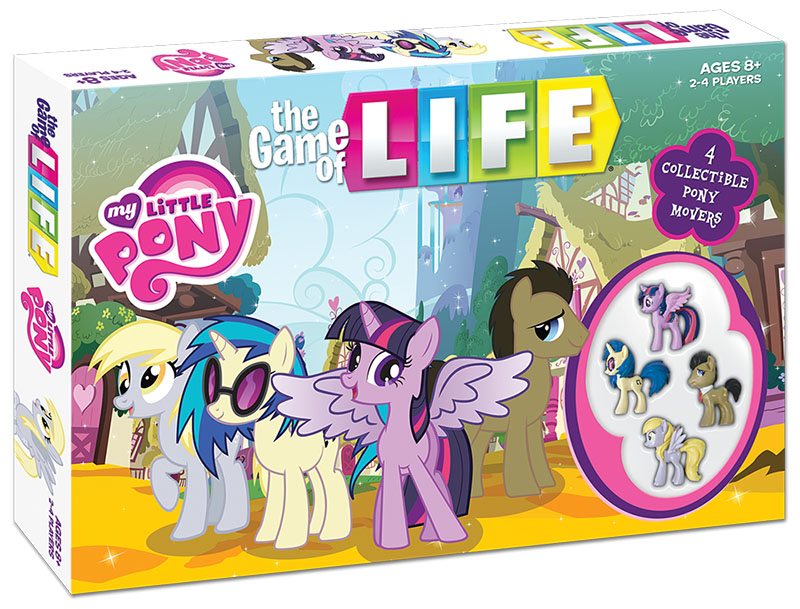 A my little pony edition of the classic board game the game of a my little pony edition of the classic board game the game of life pronofoot35fo Images