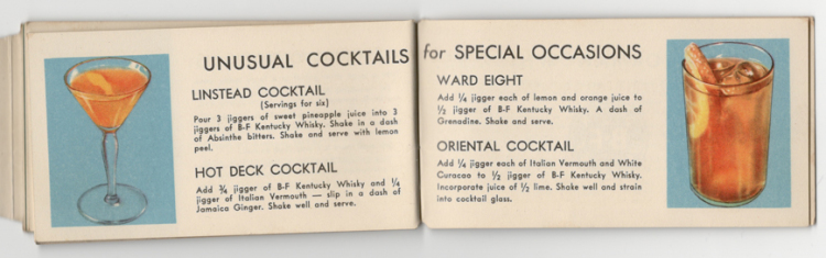 Unusual Cocktails