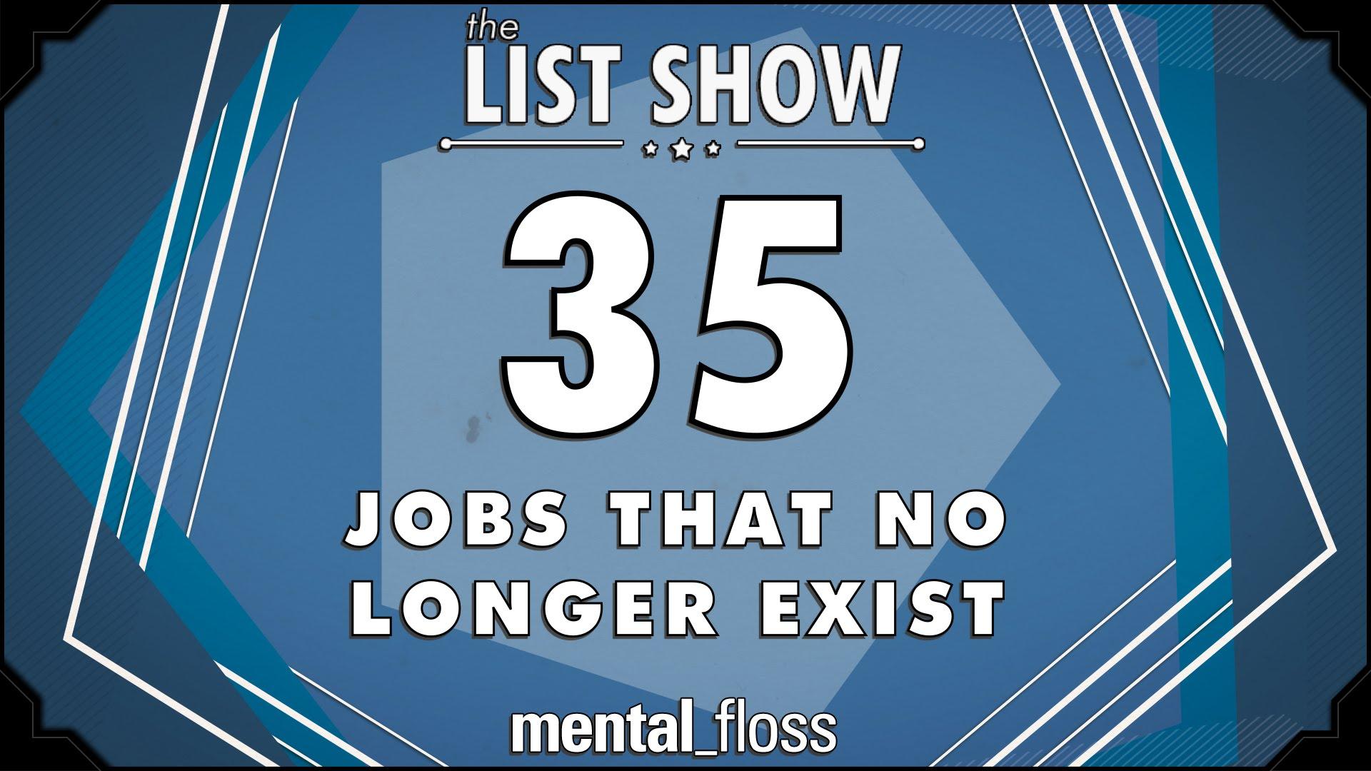 interesting jobs list