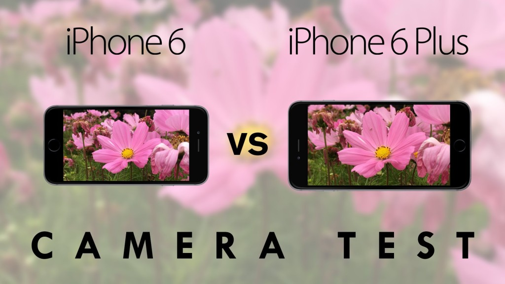 A Side-by-Side Comparison of the Rear-Facing Cameras on the iPhone 6 and iPhone 6 Plus