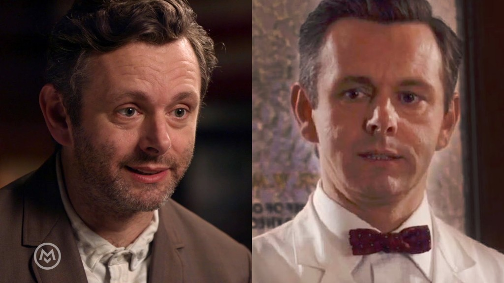 Actor Michael Sheen of 'Masters of Sex' Enjoys a Mojito with Paul F. Tompkins on a Recent Episode of 'Speakeasy'