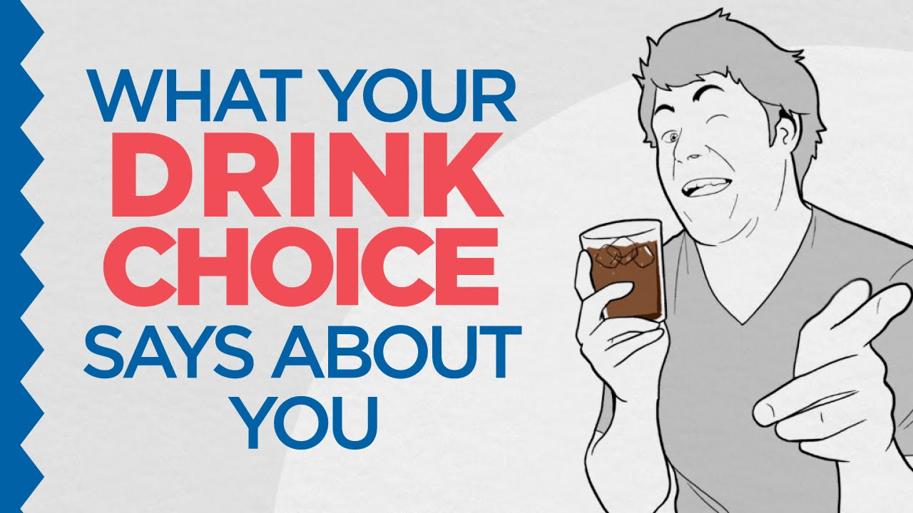 An Animated Comedy Sketch Exploring What Your Drink Choice Says About You