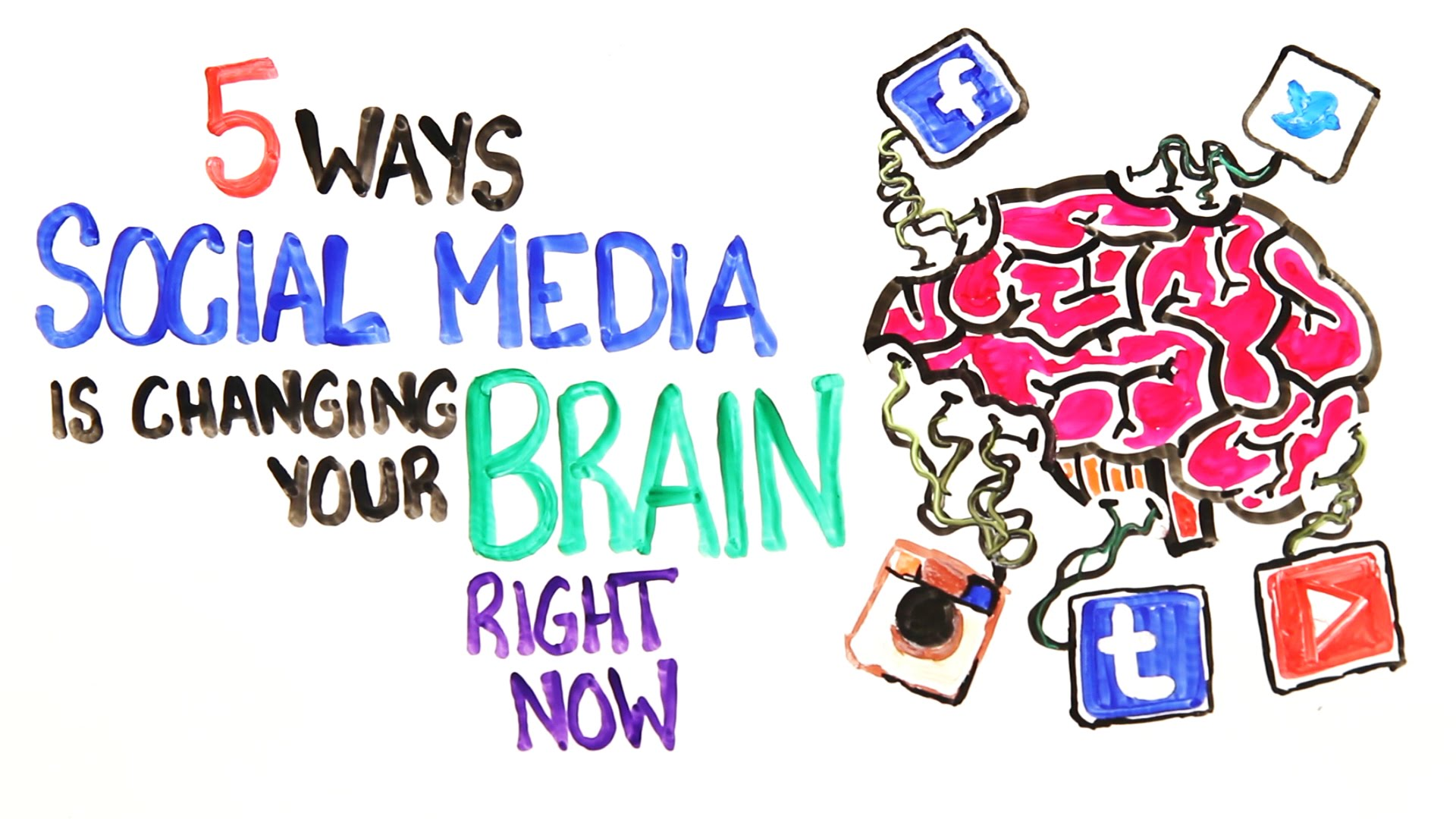 AsapSCIENCE Explains the Crazy Ways Social Media Can Change Our Brain, Body, and Life