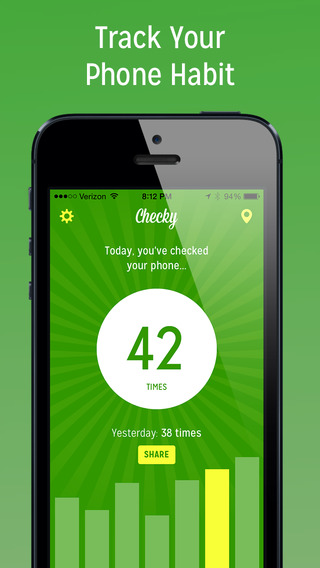 Checky, An App That Tracks Where and How Many Times a Phone Gets Checked