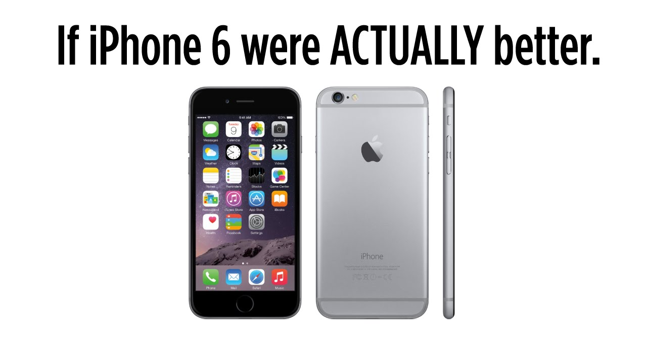 image Iphone 6 commercial parody
