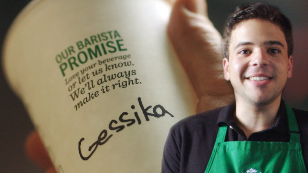 Comedian Paul Gale Explains Why Starbucks Spells Your Name Wrong