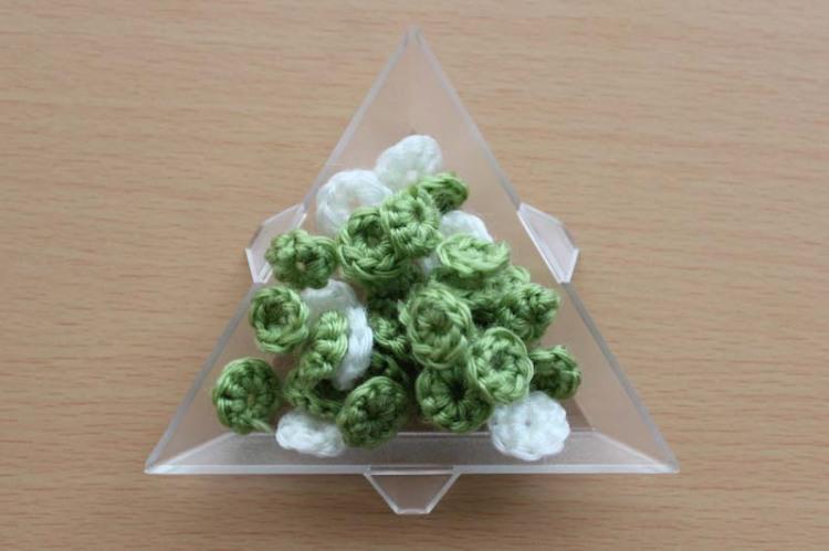 crochet scallions