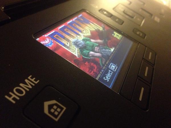 Doom Printer