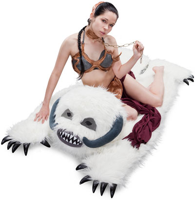 'Star Wars' Rug That Looks Like a Carnivorous Wampa Ice Creature From Planet Hoth