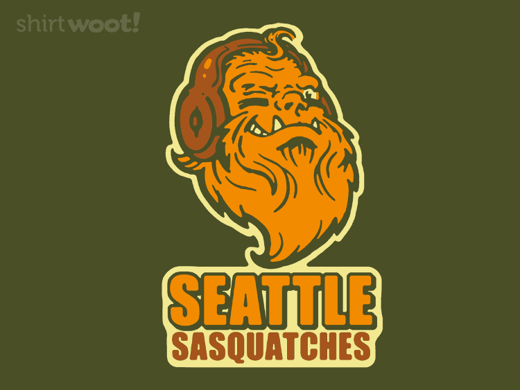 Seattle Sasquatches by Blair Sayer