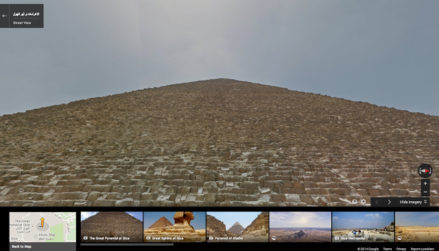 Google Maps Pyramid