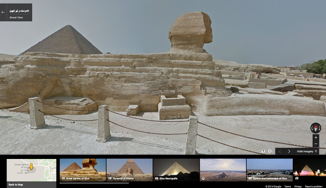 Google Maps Sphinx
