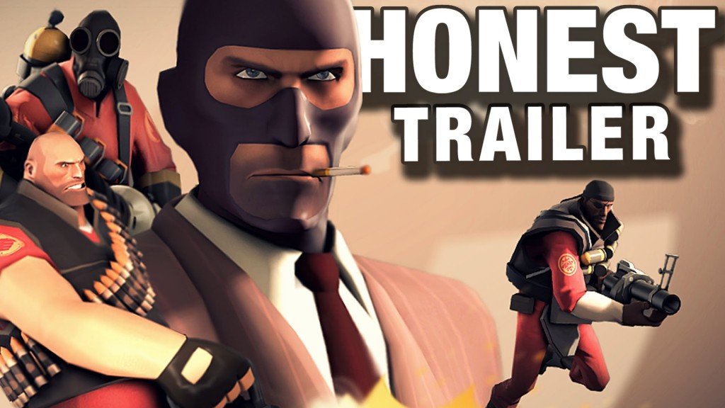 Honest Video Game Trailers – 'Team Fortress 2' by Screen Junkies and Smosh