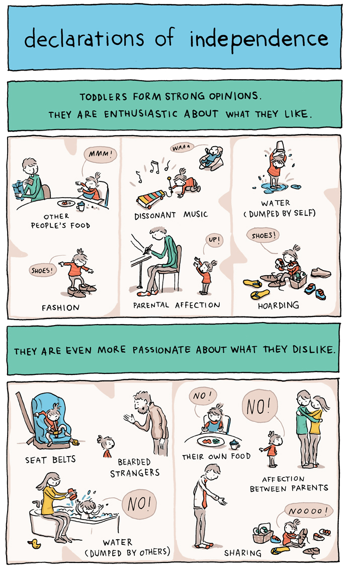 'Declarations of Independence', A Comic About the Overwhelming Peculiarities of Life With a Toddler