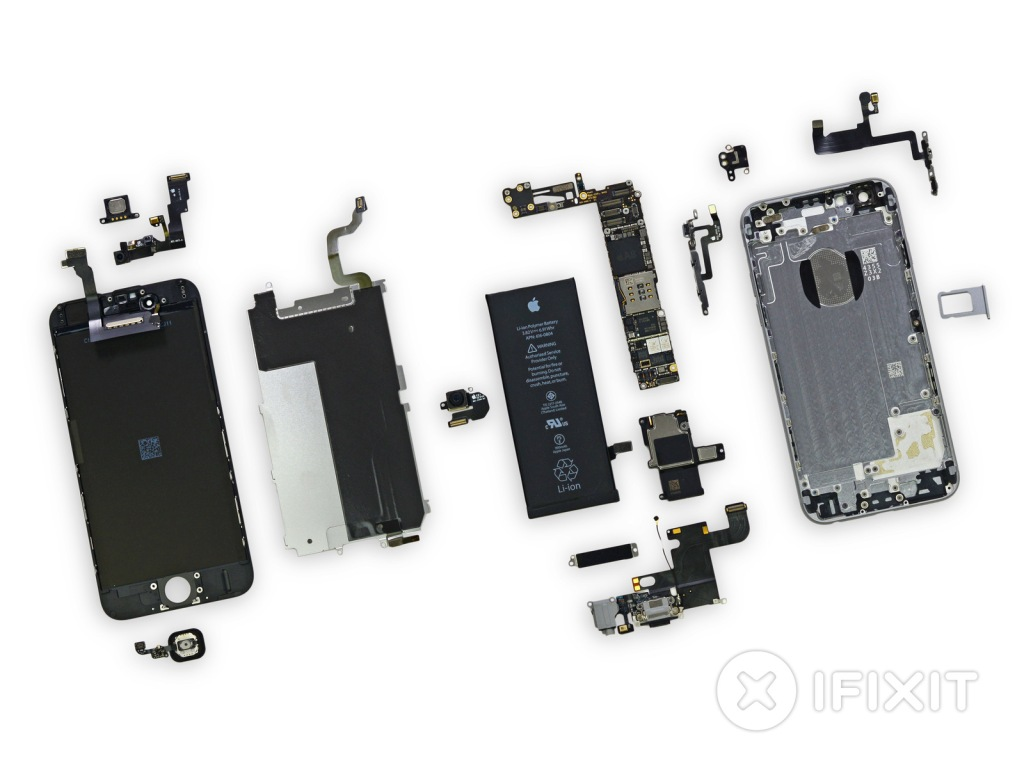 iFixit Teardown of the iPhone 6 and iPhone 6 Plus