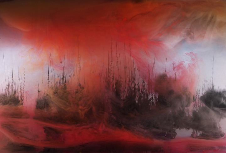 Colorful Abstract Forms by Kim Keever