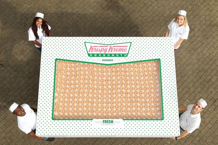 Krispy Kreme Double Hundred Dozen