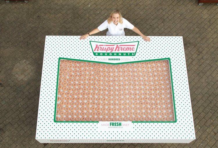 Krispy Kreme Double Hundred Dozen