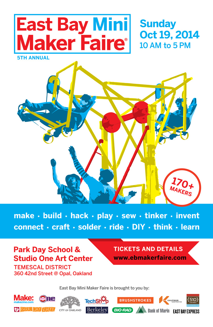 The 5th Annual East Bay Mini Maker Faire