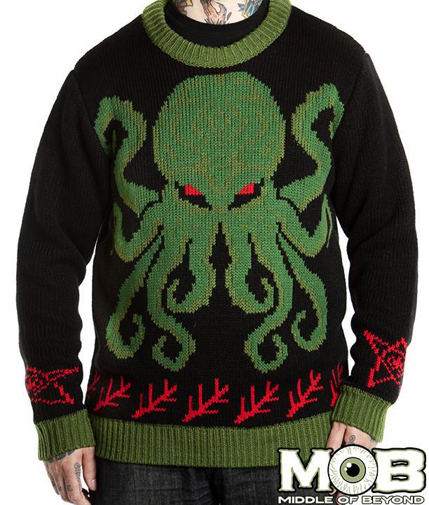 MOB Cthulhu Sweater