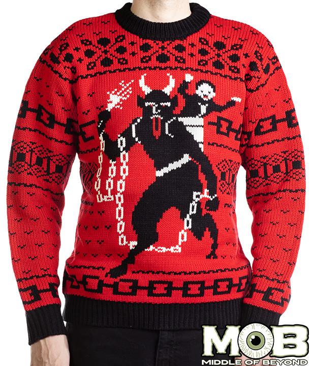 MOB Krampus Sweater