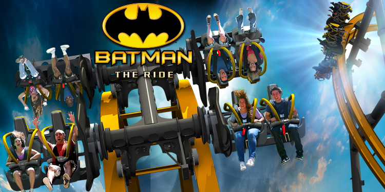 BATMAN: The Ride, A 4D Free Fly Roller Coaster Premiering at