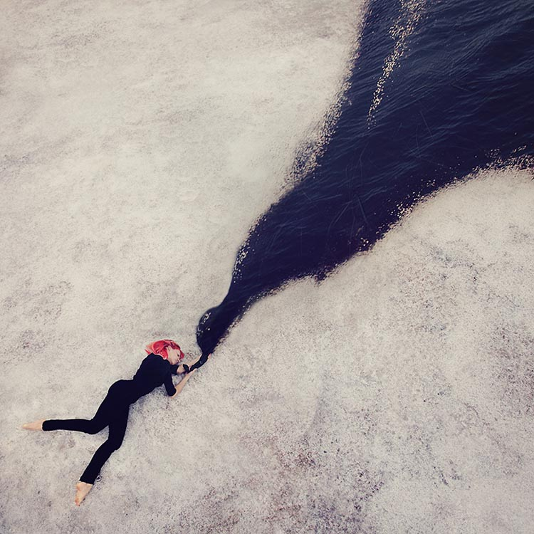 Dreamlike Self-Portraits by Kylli Sparre