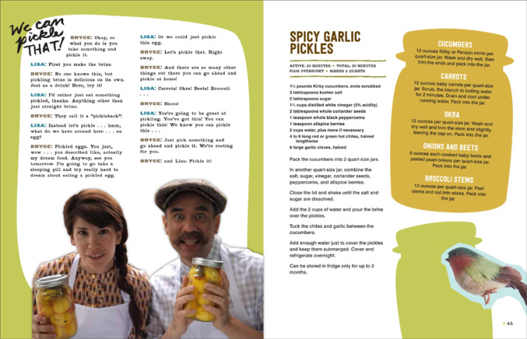 Portlandia Cookbook Pickles