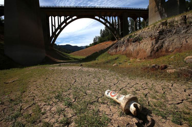 California's Severely Depleted Reservoirs