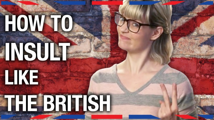 Siobhan Thompson of Anglophenia Demonstrates 'How to Insult Like the British'