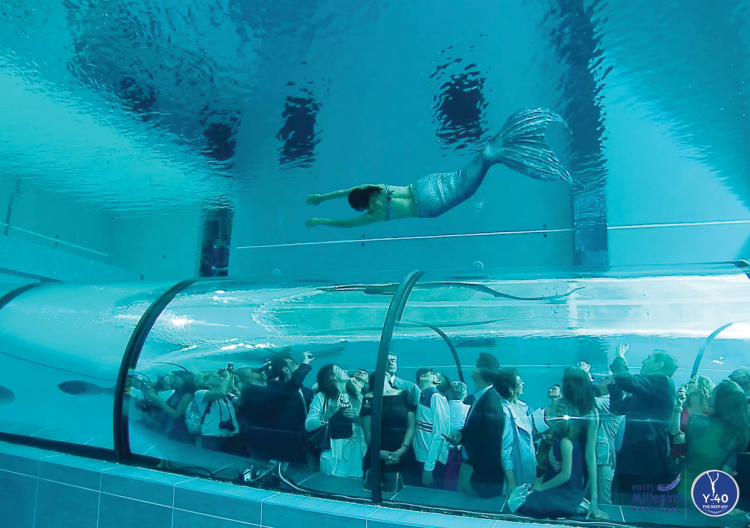 Y-40 World's Deepest Swimming Pool