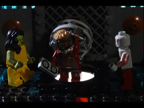 Star-Lord Has Trouble Playing His Old School Mix Tape in a LEGO 'Guardians of the Galaxy' Animated Short