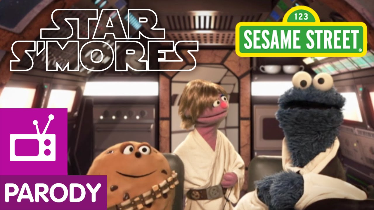 'Star S'Mores', A Tasty 'Sesame Street' Parody of the 'Star Wars' Films Starring Cookie Monster