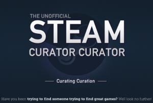 Steam Curator Curator