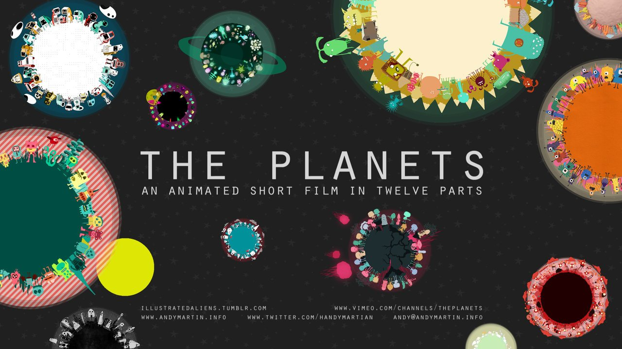 The Planets A Charming 12 Part Animated Short Film