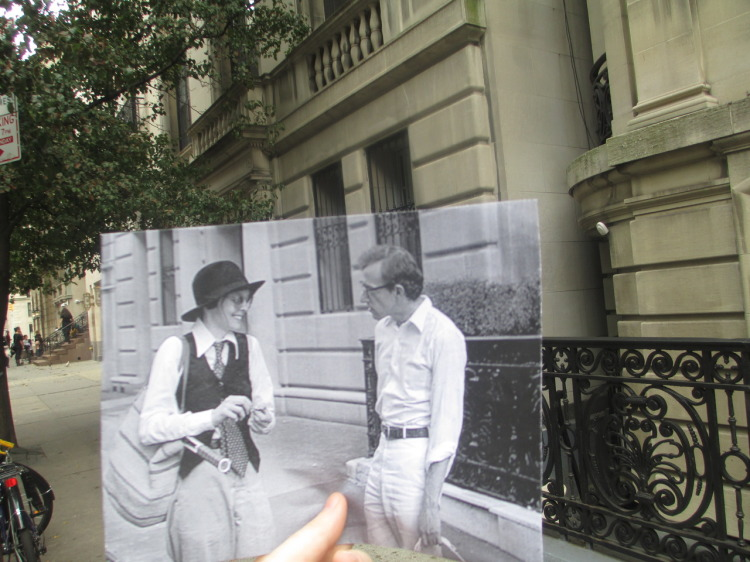 Movie Stills Superimposed Over Their Present Day Locations
