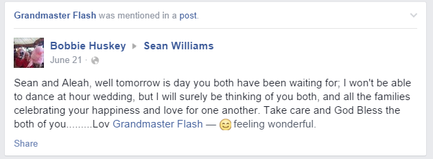 Grandmas keep accidentally tagging themselves as Grandmaster Flash
