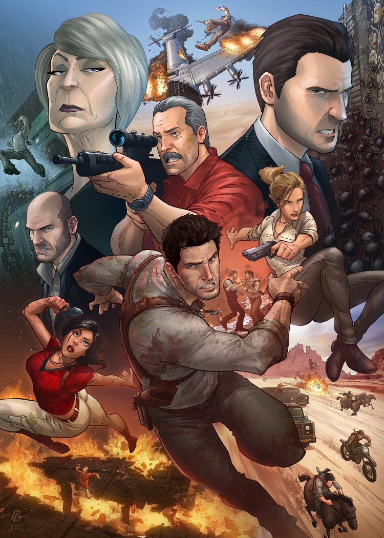 Uncharted 3 by Patrick Brown