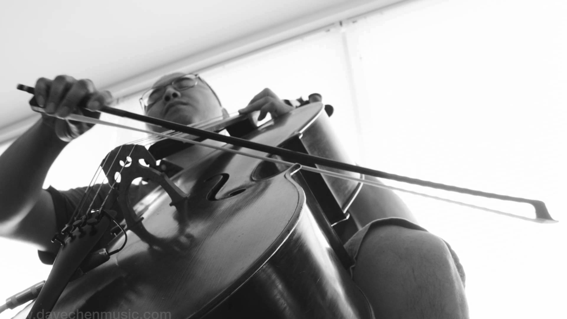 'With or Without You' by U2 Played Solo on a Looped Cello