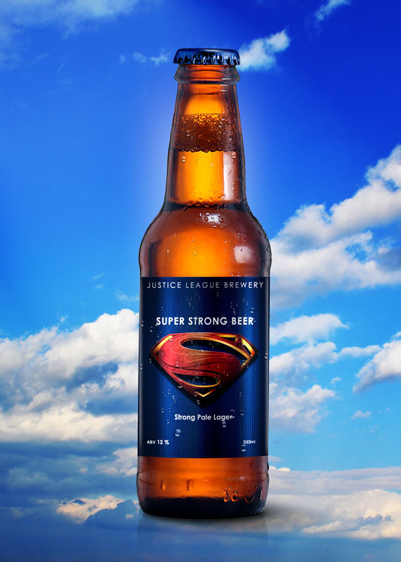 Justice League Beer