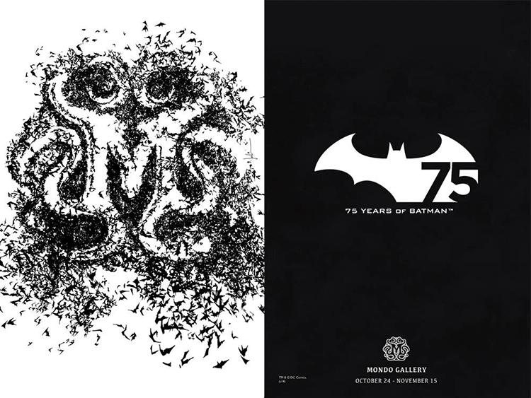 Mondo Batman Cover