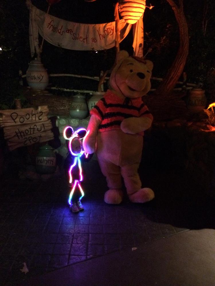 Glowy Zoey Minnie Mouse