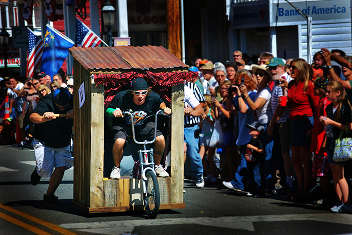 The World Championship Outhouse Races, An Annual Race of Outdoor Plumbing in Virginia City, Nevada