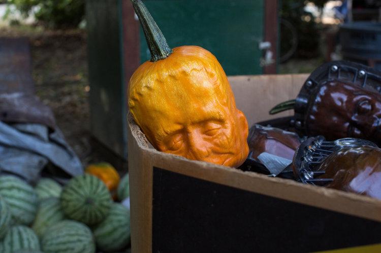 Pumpkinstein Frankenstein Pumpkins