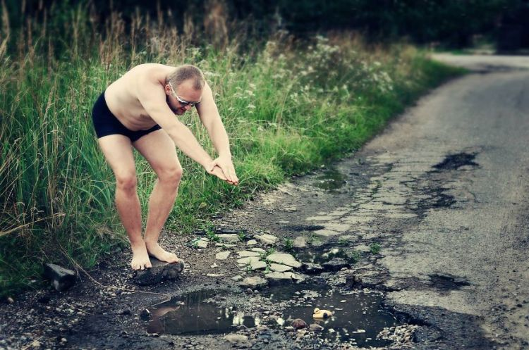 Group Stages Clever Pothole Photos